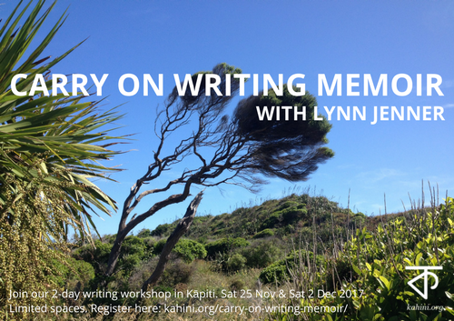 Carry on writing memoir